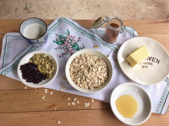 oatmeal fixins
